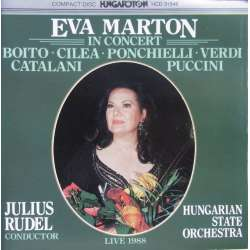 Eva Marton in Concert. A live concert from 1968. 1 CD. Hungaroton. HCD 31546