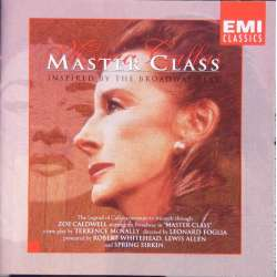 Maria Callas: Master class. Inspired by the Broadway plays. 1 CD. EMI