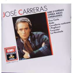 Jose Carreras opera arias by Verdi and Puccini. 1 CD. EMI