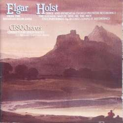Elgar: From Bavarians Highlands. & Holst: Dirge and Hymeneal. 1 CD. Conifer.