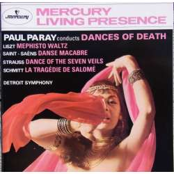Danses of Death. Liszt, Saint-Saens, R. Strauss. Paul Paray. 1 CD. Mercury