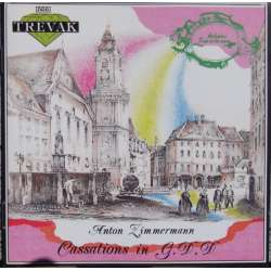 Zimmermann: Cassations. i G, & D. Brunner, Vondra, Tedla. 1 CD. Trevak