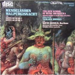 Mendelssohn: Walpurgisnacht. Tamara Brooks, The New School and music orchestra. 1 CD. Arabesque