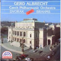 Brahms: Symphony no. 1. & Dvorak: Overture 'in the nature'. Czech PO. Gerd Albrect. 1 CD. Supraphon