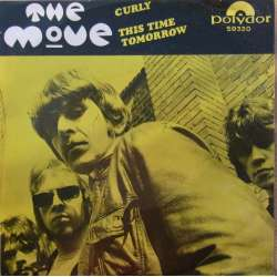 The Move: Curly. + This time tomorow. 1 Single. 45 omdr. Polydor