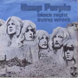 Deep Purple: Black Night. + Living Wreck. 1 Single. 45 omdr. EMI