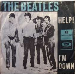 The Beatles: Help. + I'm Down. 1 Single. EMI