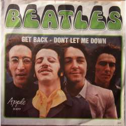 The Beatles: Get Back. + Don't let me Down. 1 Single. Apple