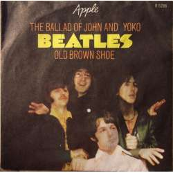 The Beatles: The Ballad of John and Yoko. + Old Brown Shoe. 1 Single. Apple