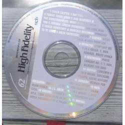 En reference CD der fulgte med det hedengangne danske High Fidelity. Reference CD. no. 62