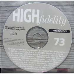 En reference CD der fulgte med det hedengangne danske High Fidelity. Reference CD. no. 73