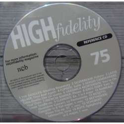 En reference CD der fulgte med det hedengangne danske High Fidelity. Reference CD. no. 75