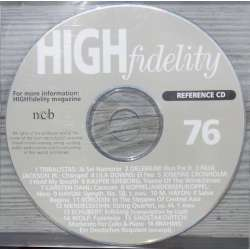 En reference CD der fulgte med det hedengangne danske High Fidelity. Reference CD. no. 76