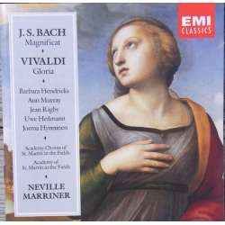 Bach: Magnificat. & Vivaldi: Gloria. B. Hendricks, ASMF, Marriner. 1 CD. EMI