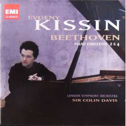 Beethoven: Piano Concertos nos. 2 and 4. Kissin, LSO. Colin Davis. 1 CD. EMI