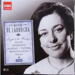 Alicia de Larrocha: Complete EMI Recordings. 8 CD. EMI