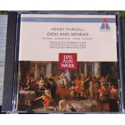 Purcell: Dido and Aeneas. Concentus musicus Wien. N Harnoncourt. 1 CD. Teldec
