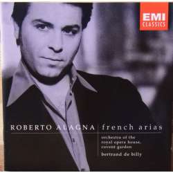 Roberto Alagna. Franske opera arier. Covent Garden, Bertrand de Billy. 1 CD. EMI