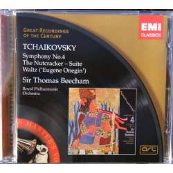 Tchaikovsky: Symphony no. 4. The Nutcracker suite. RPO. Thomas Beecham. 1 CD. EMI