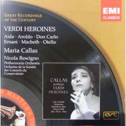 Maria Callas: Verdi Heroines. Lyric and Coloratura arias. 1 CD. EMI. GRC