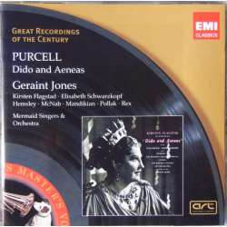 Purcell: Dido and Aeneas. Flagstad. Schwarzkopf. G. Jones. 1 CD. EMI. GRC