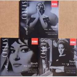 Maria Callas: Verdi operatic arias. 3 CD. EMI