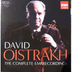 David Oistrakh. The Complete EMI Recordings. 17 CD. EMI