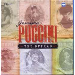 Puccini: The Operas. 17 CD. Warner