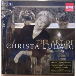 Christa Ludwig: The Art of. 5 CD. EMI