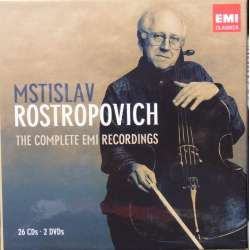Rostropovich: The Complete EMI Recordings. 26 CD + 2 DVD.