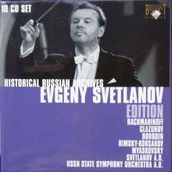 Evgeny Svetlanov Edition. 10 CD. Historic Russian Archives 9001.