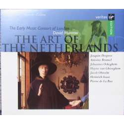 David Munrow: The Art of the Netherlands. Des Prez, Brumel, Ockghem. 2 CD. Virgin