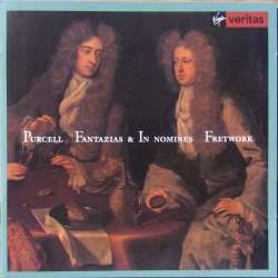 Purcell: Fantazias & In Nomines. Fretwork. 1 CD. Virgin