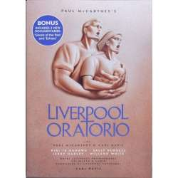 Paul McCartney: Liverpool Oratorio. Kiri te Kanawa, White, LPO. Carl Davis. 2 DVD. EMI
