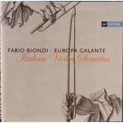 Italian Violin sonatas. Fabio Biondi and Europa Galante. 1 CD. Virgin