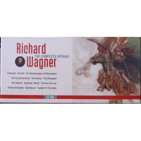 Richard Wagner: The Complete operas. Karajan, Furtwängler, Knappertsbusch, Keilberth. 43 CD. Membran.