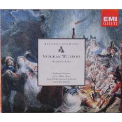 Vaughan-Williams: Sir John in Love. Meredith Davies, Raimund Herines, Terry Jenkins, Felice Palmer. 2 CD. EMI.