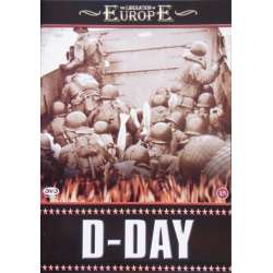 D-Day. The Invasion on Normandy coast in 1944. 1 DVD.