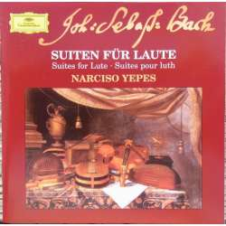 Bach: Suites for lute. Narcisco Yepes. 1 CD. DG