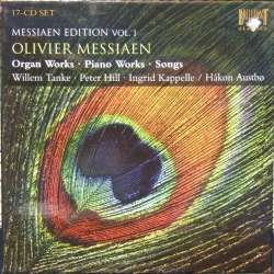 Messiaen: Komplette orgel og klaverværker. Willem Tanke. 17 CD. Brilliant Classics