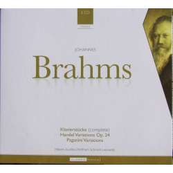Brahms: Piano Pieces + Handel: Variations. Austbø + Schmitt. 3 CD. Brilliant Classics