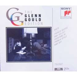 Bach: French suites. 1-6. Glenn Gould. 2 CD. Sony