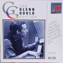 Bach: 2 and 3 part Inventions. Glenn Gould. 1 CD. Sony