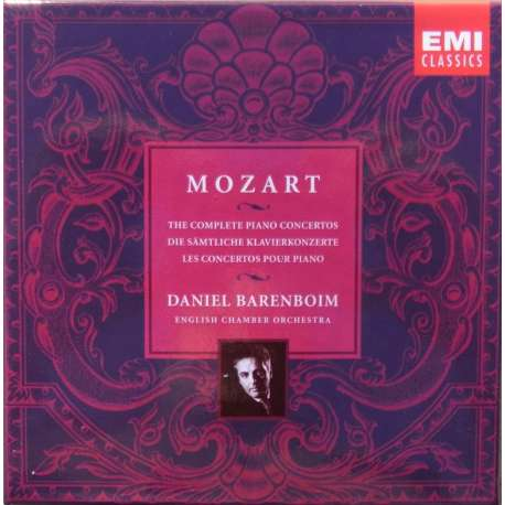 Mozart: The 27 Piano concertos. Daniel Barenboim. 10 CD. EMI