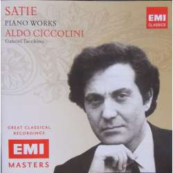 Erik Satie: Gymnopedies, Gnossiennes. Aldo Ciccolini. 1 CD. EMI Masters