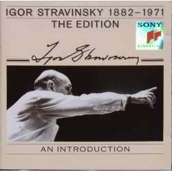 Stravinsky Conducts Igor Stravinsky. An introduction. 1 CD. Sony
