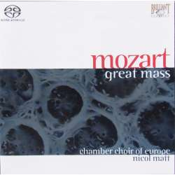 Bach: Jesu meine Freude. & Mozart: Mass in C. Nicol Matt. 1 CD. Brilliant Classics. SACD