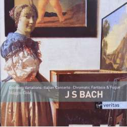 Bach: Goldberg variations, + Italiensk koncert. Maggie Cole. 2 CD. Virgin