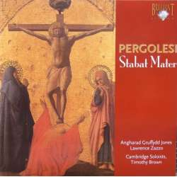Pergolesi: Stabat Mater & Salve Regina. Timothy Brown. 1 CD. Brilliant Classics