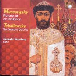 Mussorgsky: Pictures at an Exhibition. + Tchaikovsky: The Seasons. Alexander Warenberg. 1 CD. Brilliant Classics